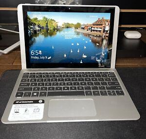 "HP Detachable Laptop X2 10"" TOUCHSCREEN Intel Quad-Core 64GB SSD 4GB RAM Win10"