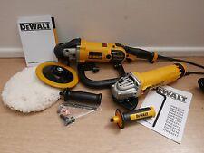 DEWALT DWP849X VARIABLE SPEED POLISHER + DWE4206 115MM ANGLE GRINDER 240V