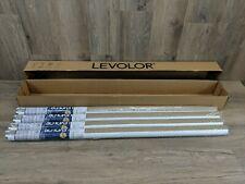 "Box of 4 Levolor Window Roller Rm Darkening Shade 37 1/4"" x78"" White Clay (#147)"