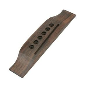 Guitar Bridge Acoustic Adjustable For Martin Style Parts Rosewood Durable