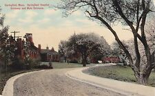 Springfield, MA - Springfield Hospital, Driveway & Main Entrance
