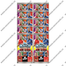 Topps Match Attax 2014-15 EPL Trading Cards 10 Packs + 10 PROMO PACKS 100 CARDS!