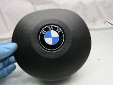 BMW 5 series E39 95-03 black leather M sport steering wheel centre safety bag