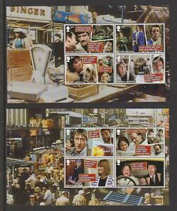 GB 2021  Two Booklet Panes ex Only Fools & Horses PSB DY37
