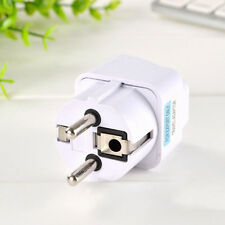 Plug USA US UK AU To EU Home Travel Power Adapter Converter Charger Europe