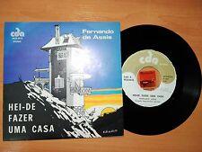 Fernando Assis HEI-DE FAZER CASA vinyl 7/45 single Angola cda merengue afrobeat