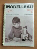 DDR Anleitung polytronic Saalfeld Modellbau Baukästen Werken Spielwaren Sonneber