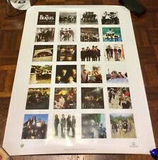 Pristine Original Beatles Anthology Poster - UK Montage Design 80x60cm