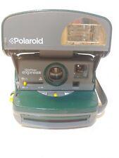 Polariod One Step Express Instant Camera600 HUNTER GREEN VINTAGE (m10)