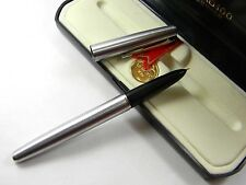 Hero 100 Stainless Steel  Golden F Nib Classic Series Fountain Pen