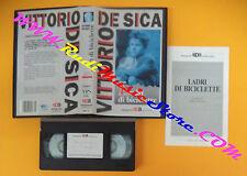 VHS film LADRI DI BICICLETTE Vittorio De Sica SAMPAOLO CM 13 (F110) no dvd