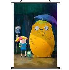 Anime Adventure Time with Finn and Jake Poster Wall Scroll cosplay 2771
