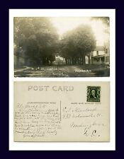 MICHIGAN BURR OAK MARTIN REAL PHOTO 3RD ST. CIRCA 1906 C.L. HIMEBAUGH, WASH, DC