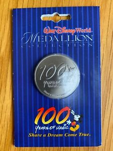 Walt Disney 100 years Medallion Collectors Coin Brand New