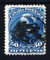CANADA Queen Victoria 1893 50c. Blue SG 116 VFU