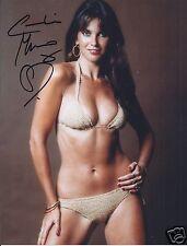 CAROLINE MUNRO SIGNED 007 JAMES BOND 8x10 PHOTOGRAPH 7 - UACC & AFTAL AUTOGRAPH