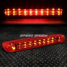 [2-ROW LED]FOR 07-14 SILVERADO SIERRA THIRD 3RD TAIL BRAKE LIGHT CARGO LAMP RED