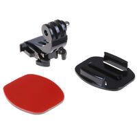 3 in 1 Camera base helmet mount with adhesive sticker for hero3+/3/2/1 W C Sk