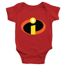 Infant Baby Boy Girl Bodysuit Romper Jumpsuit Newborn The Incredibles 2 Symbol