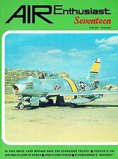 AIR ENTHUSIAST #17 DEC 81-MAR 82: FOKKER D.VIII/ WALRUS SHAGBAT/ AWA TAILLESS AC