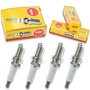 4 pcs NGK Standard Spark Plugs for 1991-2002 Saturn SL1 1.9L L4 - Engine Kit xo