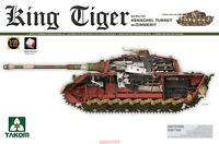 Takom 1/35 2045 Sd.Kfz.182 King Tiger Henschel Turret w/Zimmerit