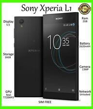 Sony XPERIA L1 Nero 16GB G3312/G3311 * * Sbloccato Dual Sim-Single Sim Smartphone