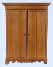Dettagliata Lincoln Guardaroba / NOCE, DOLLS HOUSE miniatura scala 1.12