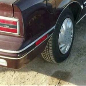 Buick Skylark, Somerset: 1986 - 1991, Right Rear Marker Light With Brown Bezel