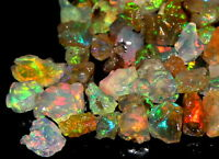 A+++ Quality Natural Untreated Ethiopian opal Rough 20 Carat Lot
