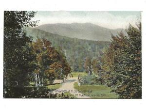 OLD COPP BRIDGE, DIVIDED BACK, UNPOSTED, WHITE MTNS, NH
