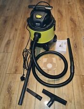 Parkside Wet and Dry Vacuum Cleaner 1300W 20L 3-years warranty invoice  INCLUDED