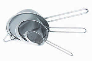 Stainless Extra Fine Mesh Conical Strainer Sieve Filter Chinois 12/16/20 cm