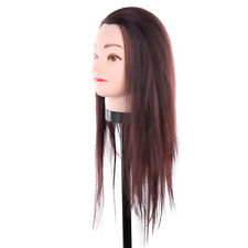 Hairdressing Training Head Styling Practice Model Mannequin Head With Free Clamp