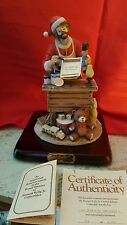 Limited Edition Emmett Kelly Jr Figurine Spirit Of Christmas V # 410 Of 2400