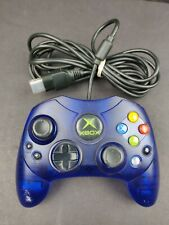 Original OEM XBox S Type Controller Blue (Official Tested) With Breakaway Cable