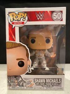 Funko Pop Vinyl WWE SHAWN MICHAELS HBK The Heartbreak Kid 50 Vaulted Figure Rare