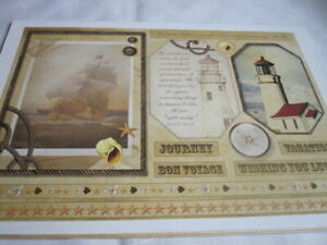 **Craft Room Clear Out**  Papercraft Pack - Debbie Moore - Travel Theme (1)