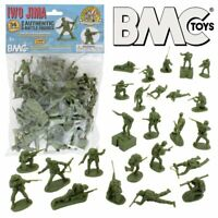 BMC WW2 Iwo Jima US Marines Plastic Army Men 36pc Playset
