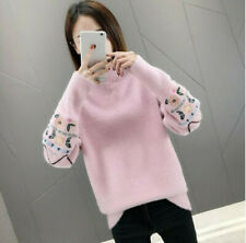 Sweater Women's Embroidery Bottoming Shirt Autumn And Winter Stylish Sweater New