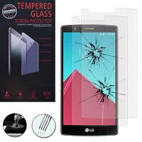 2 Films Verre Trempe Protecteur Protection Haute Qualite LG G4/ G4 Dual LTE