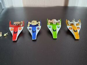 4 HKD Very Rare 2002 2.7 SPACE GLIDER PLANEs Diecast Toys Vintage Various colour