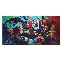 120x60cm Modern Abstract Canvas Print Art Oil Painting Wall Picture Home Decor