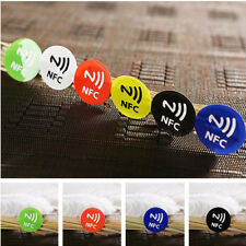 1PC Waterproof NFC Tag Stickers Rfid Adhesive Label for Samsung iPhone X 7 8plus