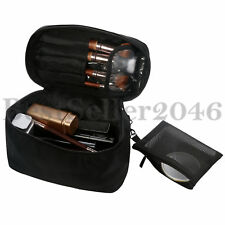 Makeup Pouch Bag Cosmetic Case Travel/Home With Mirror Multifunctional Organizer