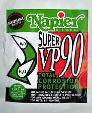 2 x Napier VP90 Rust Protector Inhibitor Sachet Gun Cabinet Safe Slip Bag