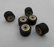 5pcs Pinch Rollers for Roland Mimaki Graphtec Vinyl Cutter Plotter 4x11x16mm