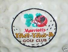 (1)Vintage Marriott Tantara Course Logo Golf Ball Balls