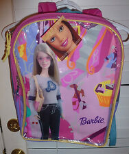 FASHION BARBIE BACKPACK PURSE~NEW~SPARKLY BACKPACK~PRETTY BARBIE GOES 2 THE MALL