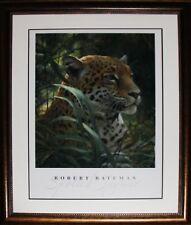 Spotted Jaguar by Robert Bateman Wildlife Fine Art Print Frame